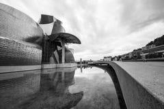 O museu Guggenheim Bilbao Fotos de Stock Royalty Free