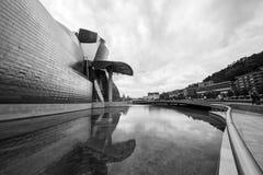 O museu Guggenheim Bilbao Fotos de Stock