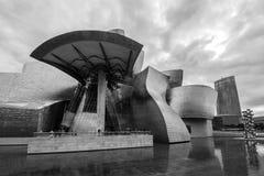 O museu Guggenheim Bilbao Foto de Stock