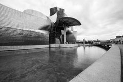 O museu Guggenheim Bilbao Imagem de Stock
