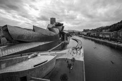 O museu Guggenheim Bilbao Fotografia de Stock