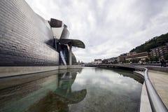 O museu Guggenheim Bilbao Imagem de Stock Royalty Free