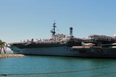 O museu intermediário do porta-aviões de USS fotos de stock royalty free