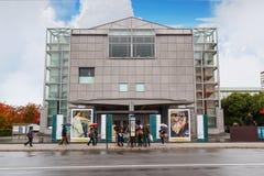 O Museu Nacional da arte moderna em Kyoto Fotos de Stock Royalty Free