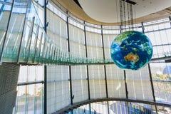 O Museu Nacional da ciência e da inovação emergentes emergentes em Odaiba, Tóquio Imagens de Stock
