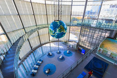 O Museu Nacional da ciência e da inovação emergentes emergentes em Odaiba, Tóquio Imagens de Stock Royalty Free