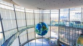 O Museu Nacional da ciência e da inovação emergentes emergentes em Odaiba, Tóquio Fotografia de Stock Royalty Free