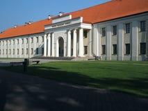 O Museu Nacional da entrada Vilnius de Lituânia Imagens de Stock Royalty Free