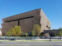 O Museu Nacional da história afro-americano e da cultura fotos de stock