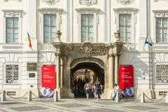 O Museu Nacional de Brukenthal Fotos de Stock Royalty Free