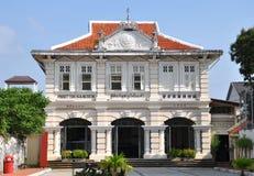 O museu Tipo de tela de algodão-Português Fotografia de Stock