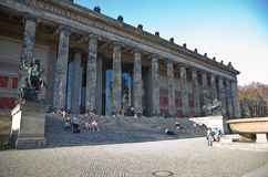 O Museumsinsel em Berlim Imagem de Stock