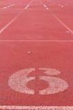 O número usado para atletas Imagens de Stock
