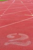 O número usado para atletas Fotos de Stock Royalty Free