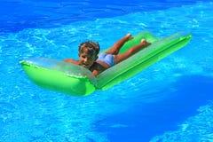 O nadador novo Fotografia de Stock