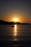 O nascer do sol é nascido Foto de Stock