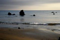 O nascer do sol começou uma manhã do verão Imagens de Stock