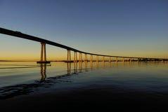 O nascer do sol o mais fino de América Foto de Stock