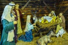 O nascimento de Jesus Imagem de Stock Royalty Free