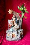 O nascimento de Jesus Christ Fotos de Stock