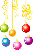 O Natal desnucleia Imagem de Stock Royalty Free