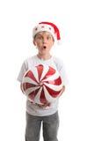 O Natal está aqui fotografia de stock