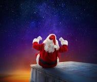 O Natal está vindo Imagens de Stock Royalty Free