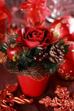 O Natal levantou-se Foto de Stock