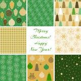 O Natal modela a coleção 4 Imagem de Stock