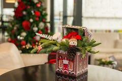 O Natal ornaments feito a mão foto de stock