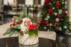 O Natal ornaments feito a mão imagem de stock