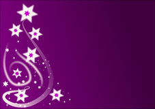 O Natal Stars o fundo Imagens de Stock Royalty Free