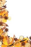 O Natal tempera o frame Fotografia de Stock Royalty Free
