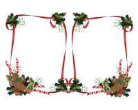O Natal trata o dobro da beira ilustração stock