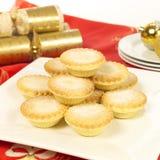 O Natal tritura tortas Fotografia de Stock