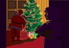 O Natal veio Fotos de Stock