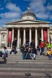 O National Gallery foto de stock