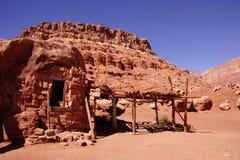 O nativo americano crafts vendedores Fotografia de Stock