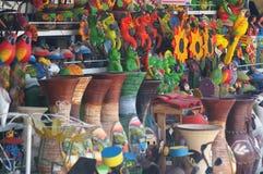 O nativo das Honduras crafts as Honduras 2018 de Comayagua foto de stock