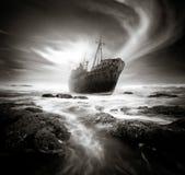 O naufrágio Fotos de Stock Royalty Free