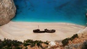 O naufrágio o mais bonito Imagem de Stock