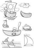 O navio Ilustração do Vetor