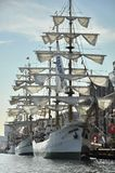 O navio alto de Gloria do ARCO no porto de Ijhaven Imagens de Stock