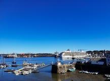 O navio de cruzeiros do mundo fotos de stock royalty free