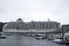 O navio de cruzeiros do mundo imagem de stock royalty free