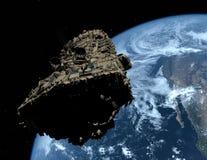 O navio de espaço Foto de Stock