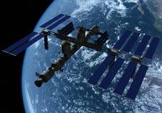 O navio de espaço Fotos de Stock Royalty Free