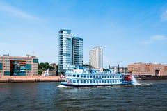 O navio de pá Luisiana protagoniza em Hamburgo Imagem de Stock