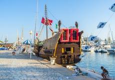 O navio de pirata Foto de Stock
