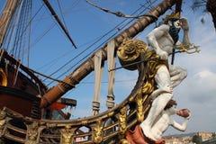 O navio de pirata Imagens de Stock Royalty Free